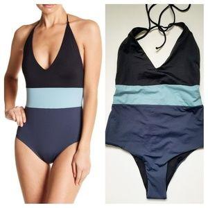 Tavik Chase Colorblock Reversible Swimsuit Blue